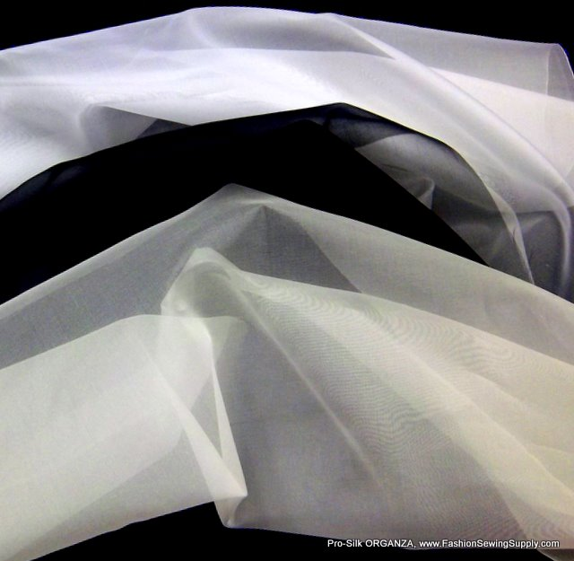 ~Sold Out~ SILK ORGANZA *Fabric for Interfacing Use*