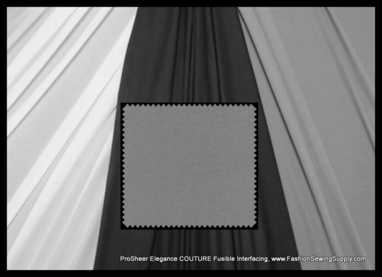 ProSHEER Elegance COUTURE Fusible Interfacing, 3 colors